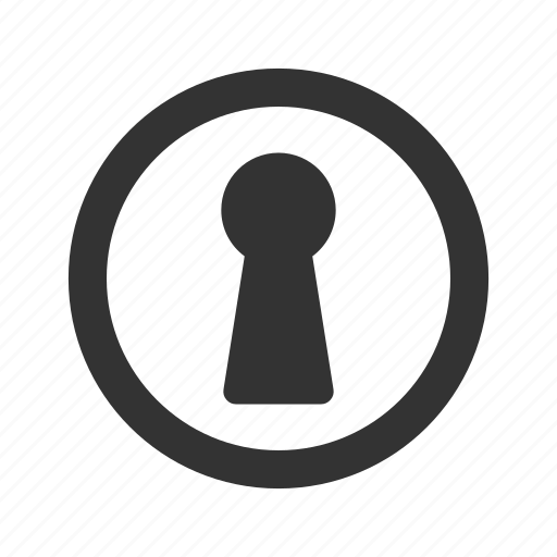Access, door, hole, key, keyhole, password icon - Download on Iconfinder
