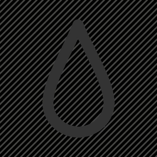 Dew, drop, droplet, oil, rain, raindrop, water icon - Download on Iconfinder