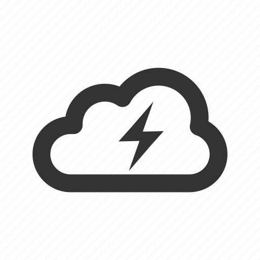 Bolt, cloud, electricity, flash, lightning, power, storm icon - Download on Iconfinder