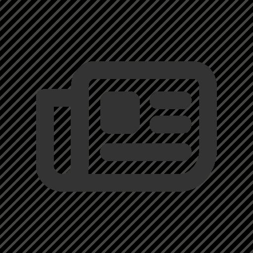 breaking, feed, news, newsfeed, newspaper icon