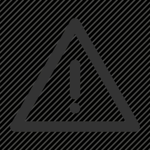 Alarm, alert, attention, caution, danger, error icon - Download on Iconfinder