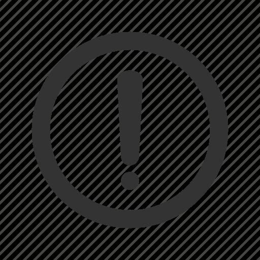 Alert, caution, danger, error, exclamation,problem icon - Download on Iconfinder