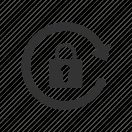 lock, password, secure, trust icon