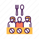 activity, civil, hunger, position, protest, social, strike icon