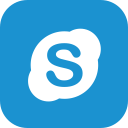 chat, communication, skype icon