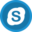 chat, communication, ineraction, skype, social icon