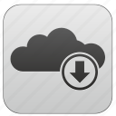 app, cloud, download, program, soft, software icon