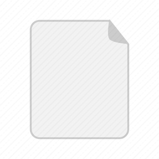 document, documents, empty, file, page, paper, sheet icon