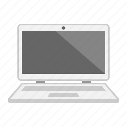 computer, device, laptop, notebook, screen, technology icon