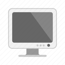 computer, desktop, display, monitor, pc, screen icon