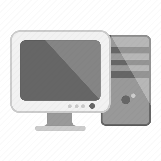 computer, cpu, desktop, device, monitor, pc, technology icon
