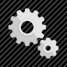 config, configuration, control, gear, run, setting icon