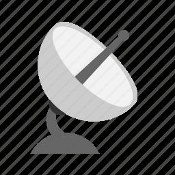 communication, satellite, technology icon