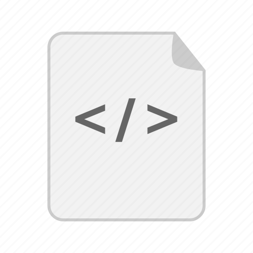 code, document, extension, file, source icon