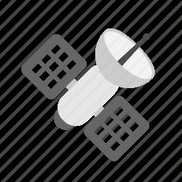 gps, satellite, space icon