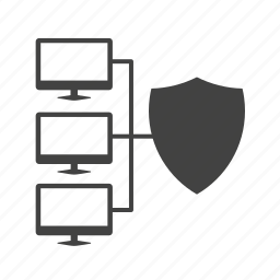antivirus, cloud, digital, network, protection, security, shield icon
