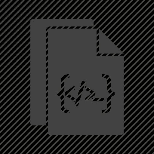 code, coding, documentation, program, programming, software, web icon