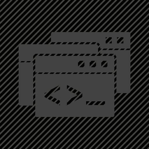 computer, microsoft, programming, technology, web, website, windows icon