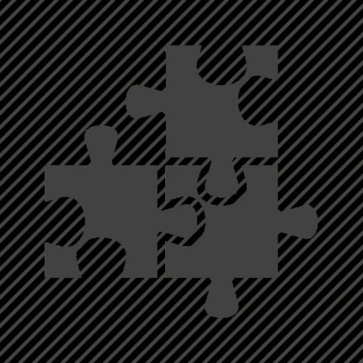 fit, idea, object, part, pieces, puzzle, shape icon