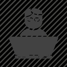 code, computer, developer, programmer, programming, software, working icon