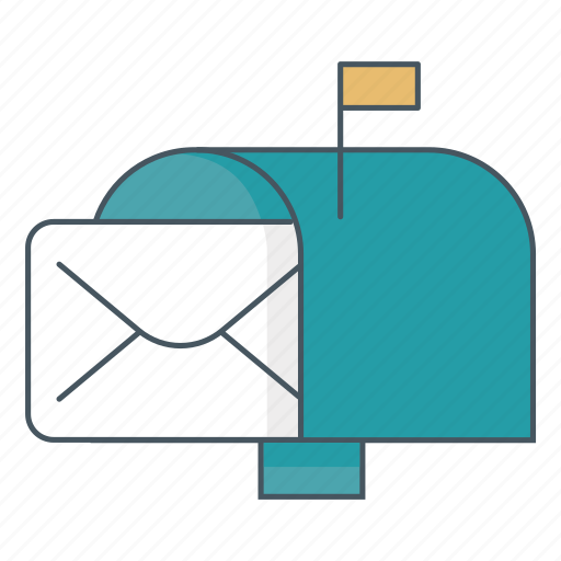email, inbox, letter, mail, mailbox icon