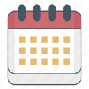 agenda, calendar, date, events, plan, schedule icon