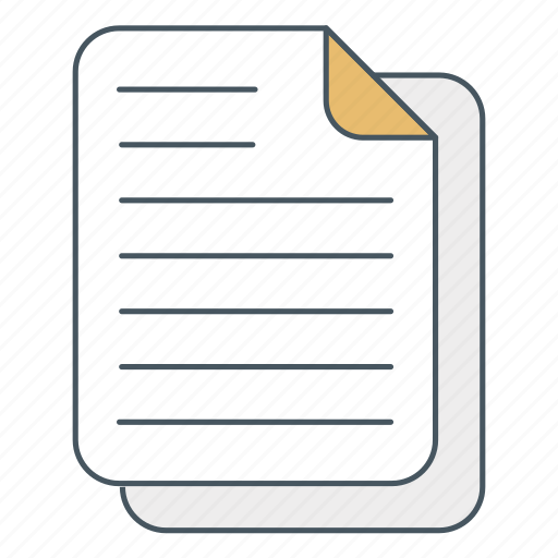 doc, document, file, letter, paper, report, text icon
