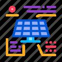 actions, battery, different, energy, outlie, solar, technicians