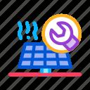 alternative, energy, outlie, panel, repair, solar, technicians