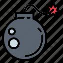 bomb, detonation, explosive, weapons icon