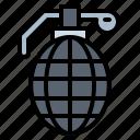 burst, explosion, grenade, military icon