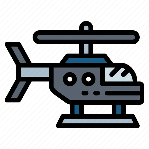 aircraft, fly, helicopter, plane icon