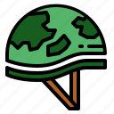 helmet, protection, soldier, war icon