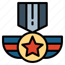award, certification, medal, quality icon