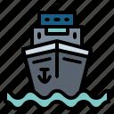boat, cruise, ship, yacht