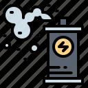 explosion, grenade, military, smoke icon