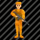 army, banner, combat, desert, man, soldier