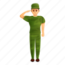hand, man, person, salute, soldier