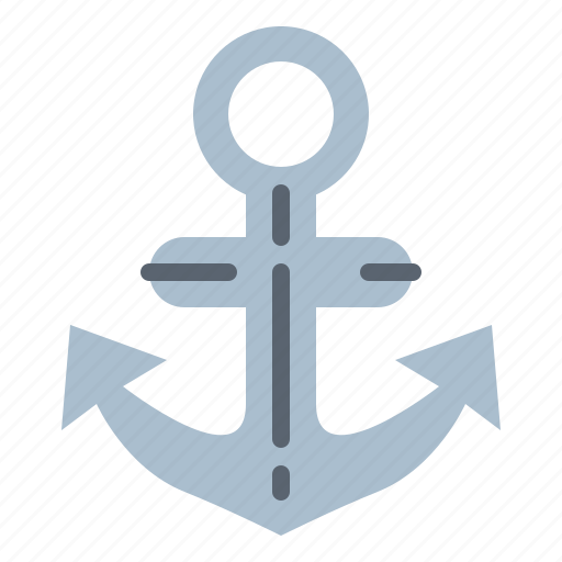 anchor, navigation, tool icon