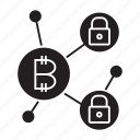 blockchain, cryptocurrency, key, security icon