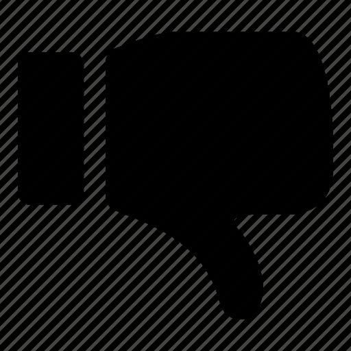 dislike, downvote icon