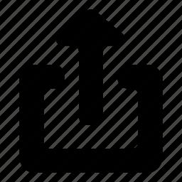 share, upload icon