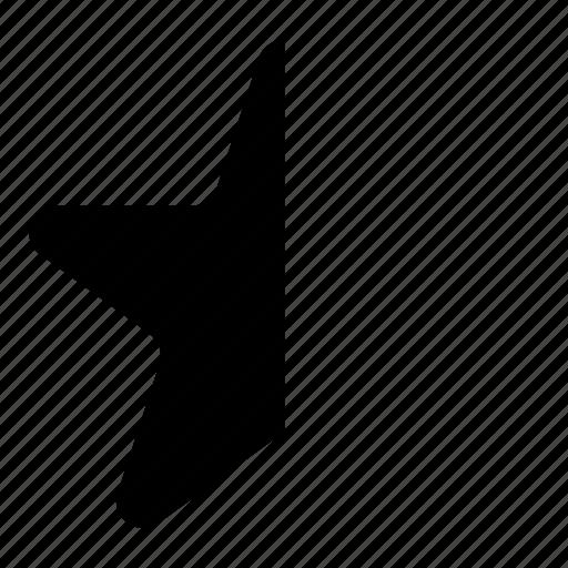 favorite, half, star icon