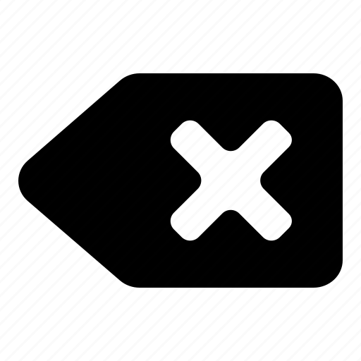 backspace, delete icon