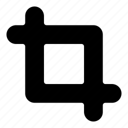crop, edit icon