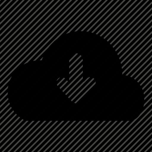 Cloud, download icon - Download on Iconfinder on Iconfinder