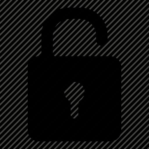lock, padlock, security, unlock, unlocked icon