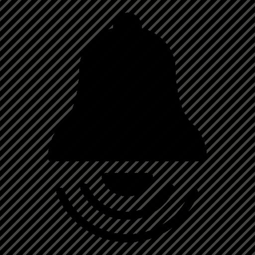 alert, bell, ring icon