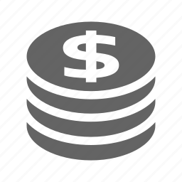 coin, currency, finance, money, solid, stock icon