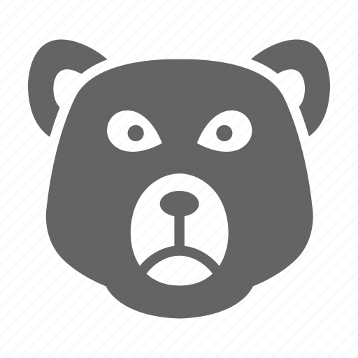 Bear, currency, finance, money, solid, stock icon - Download on Iconfinder